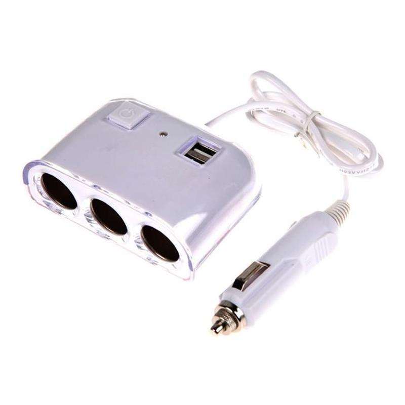 Olesson IN-CAR Triple USB Socket 1505