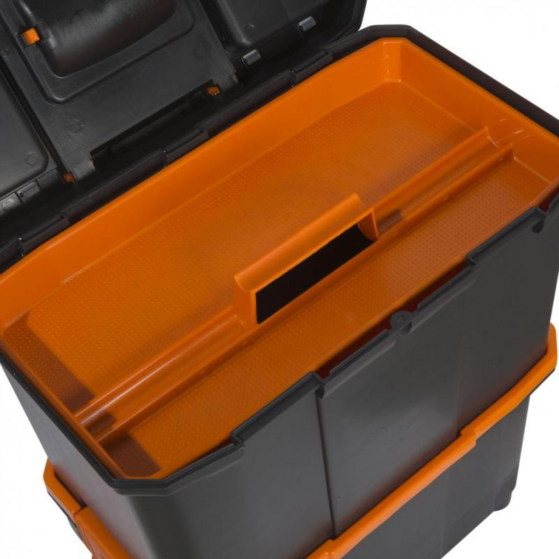 Handy Geanta din plastic, din mai multe parti, tractabila 18 - 460x260x625mm