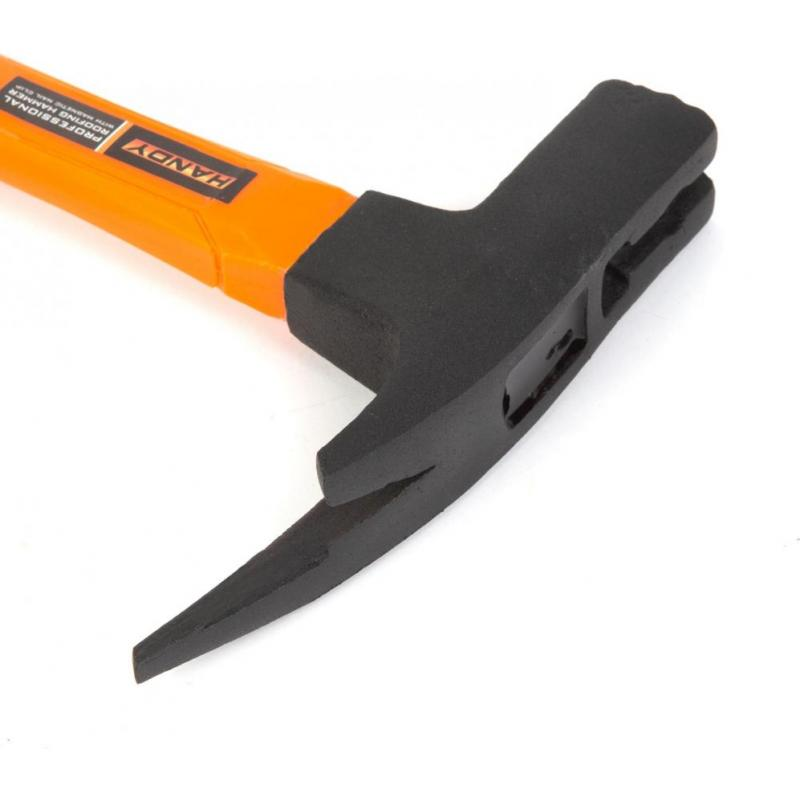 Handy Ciocan de dulgherie profesional, cu tragator si suport de cuie magnetic si maner fibra de sticla 600 g