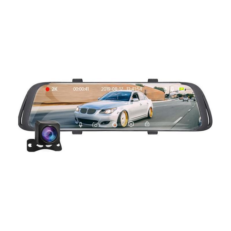 Zenteko Camera Auto Oglinda Offroad Zenteko 2K + Full HD cu touchscreen SM1042CM