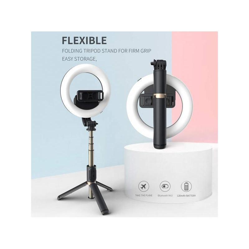 OEM Selfie Stick SM-SLSQ07 telecomanda bluetooth lampa foto selfie