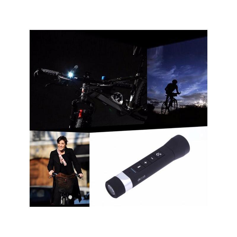 OEM Boxa Bluetooth Lanterna pentru Bicicleta