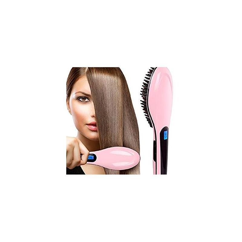 Perie cu incalzire pentru indreptat Parul - FAST HAIR STRAIGHTENER
