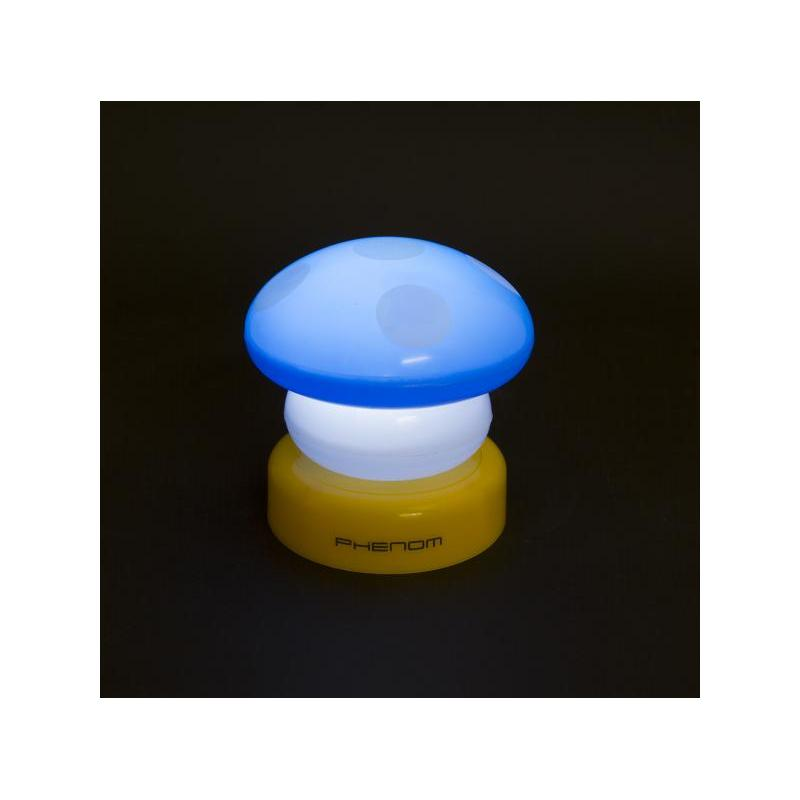 Phenom Lampa LED Phenom model Ciuperca albastra