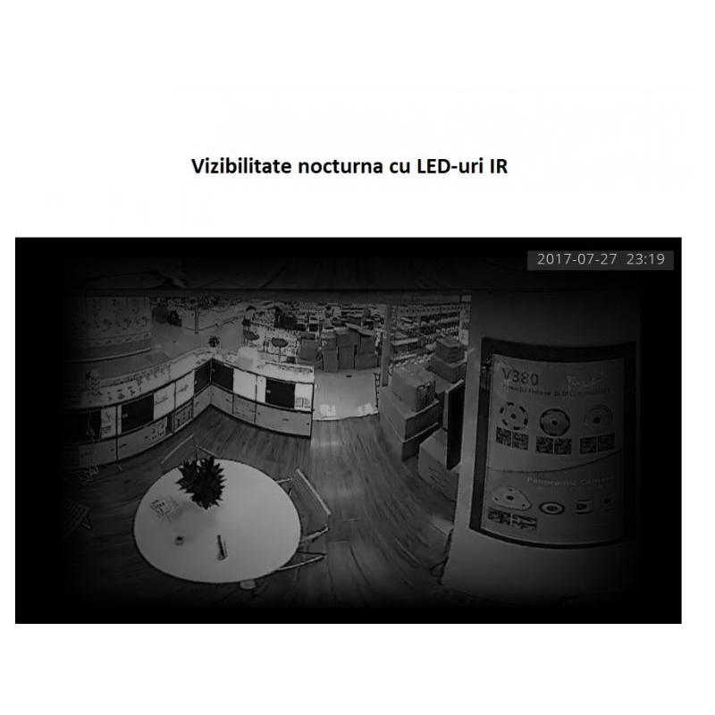 OEM Camera IP Wireless cu filmare 360° SMV350N