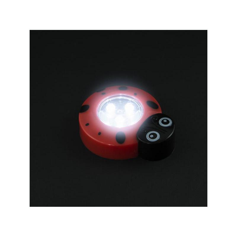 Phenom Lampă de veghe decorativă cu buton, model Buburuză