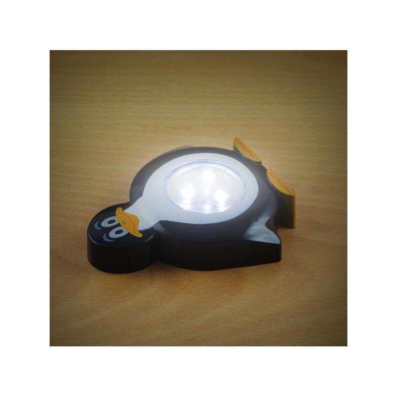 Phenom Lampă de veghe cu buton, model Pinguin