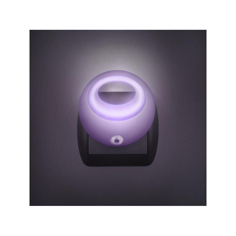 Phenom Lampa de veghe cu LED si senzor de lumina- violet