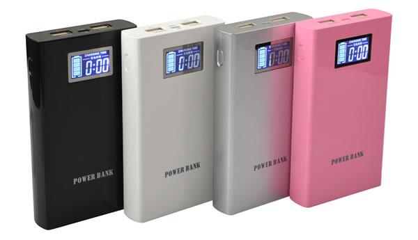 BATERIE EXTERNA 15000mAh DUAL USB CU CAPACITATE MARE SI AFIȘAJ ELECTRONIC